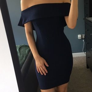NWT! Miss guided Off the Shoulder Mini Dress